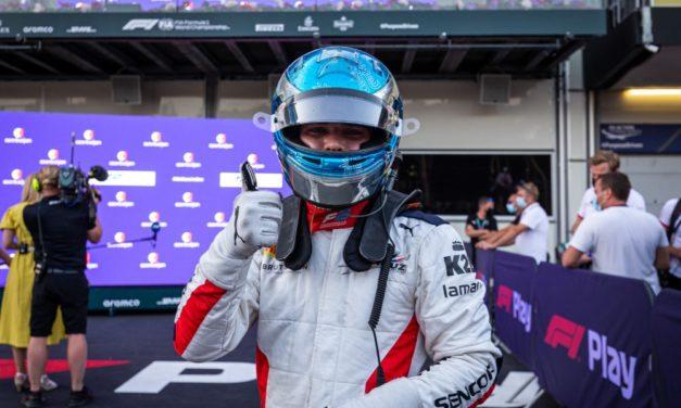 Skvělý Beckmann! Charouz Racing System v Baku na stupních vítězů
