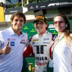 F3 v Maďarsku:  Charouzův Fittipaldi dojel pro stříbro, předtím byl Sargeant třetí